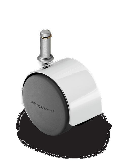 Shepherd Pacer Twinwheel Caster 60mm (100 LBS Cap) - PPA60223BC-U