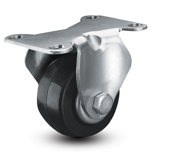 "Colson Lo-Pro Rigid Caster 2.5"" (175  LBS Cap) - 2.02688.54"