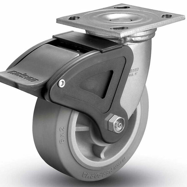 "Colson Performa Total Lock Swivel Caster 8"" (675 LBS. Cap)"