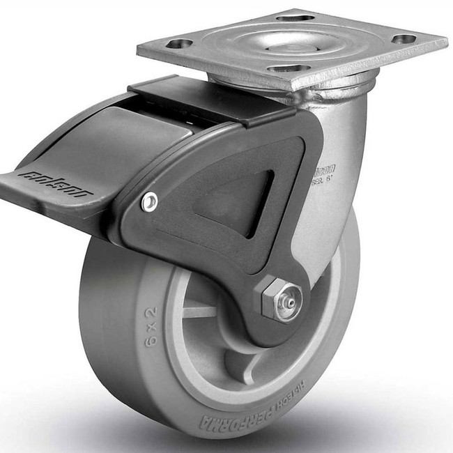 "Colson Performa Heavy Duty Total Lock Swivel Caster 6"" x 2"" (600 LBS Cap)"
