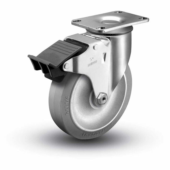 "Colson Ecoforma Total Lock Swivel Caster 5"" x 1-1/4"" (325 LBS Cap)"