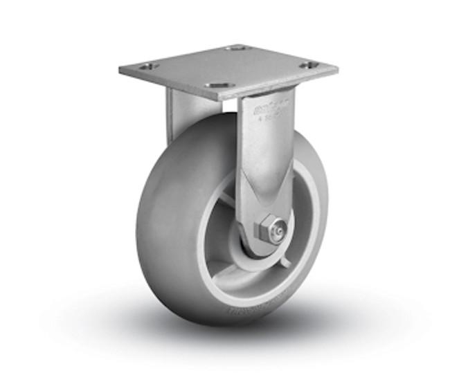 "Colson Performa Round Rigid Caster 6"" Top Plate (450 LBS Cap) 4.06108.559"