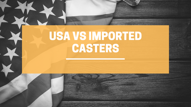 USA vs. Imported Casters