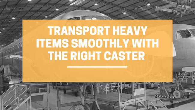 Easily Transport Heavy Items Smoothly with the Right Caster | LINCO Casters & Industrial Supply
