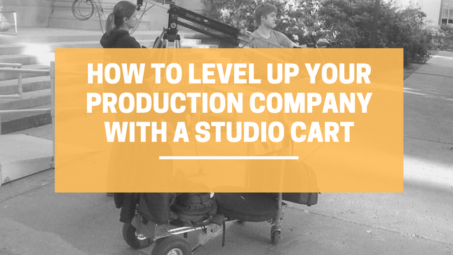 How to Level Up Your Production Company with a Studio Cart | LINCO Casters & Industrial Supply