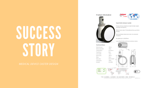 SUCCESS STORY: MED DEVICE DESIGN WIN