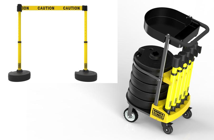 """PLUS Cart Package, """"Caution"""""""