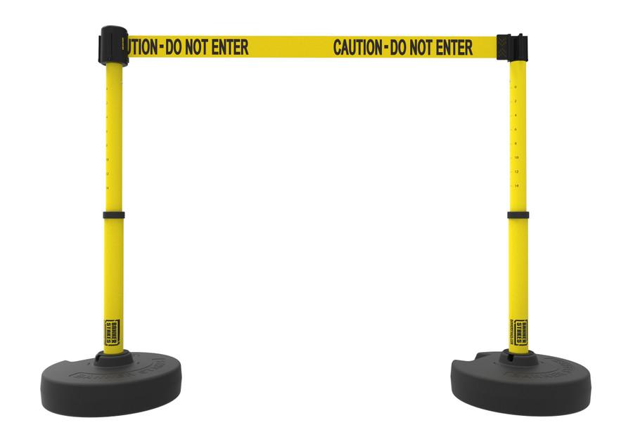 """PLUS Barrier Set X2, """"Caution-Do Not Enter"""""""