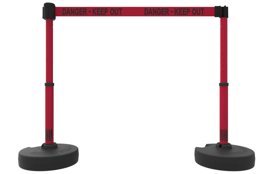 "PLUS Barrier Set X2, ""Danger - Keep Out"""