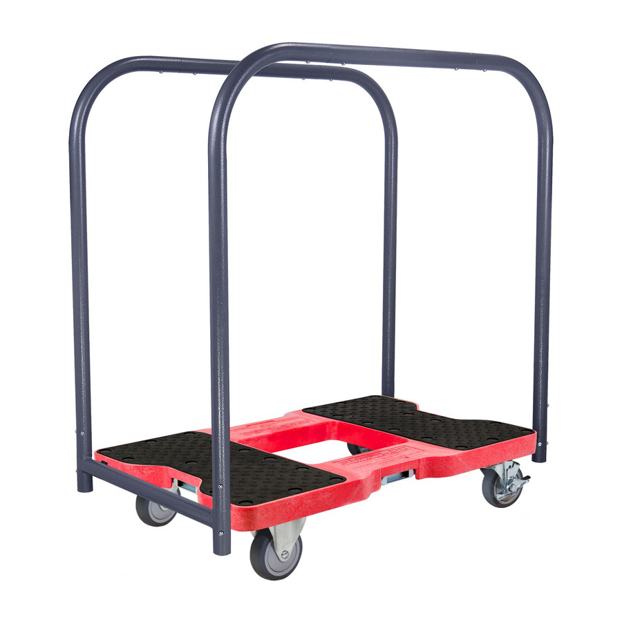 SNAP-LOC 1200 LB PROFESSIONAL E-TRACK PANEL CART DOLLY RED