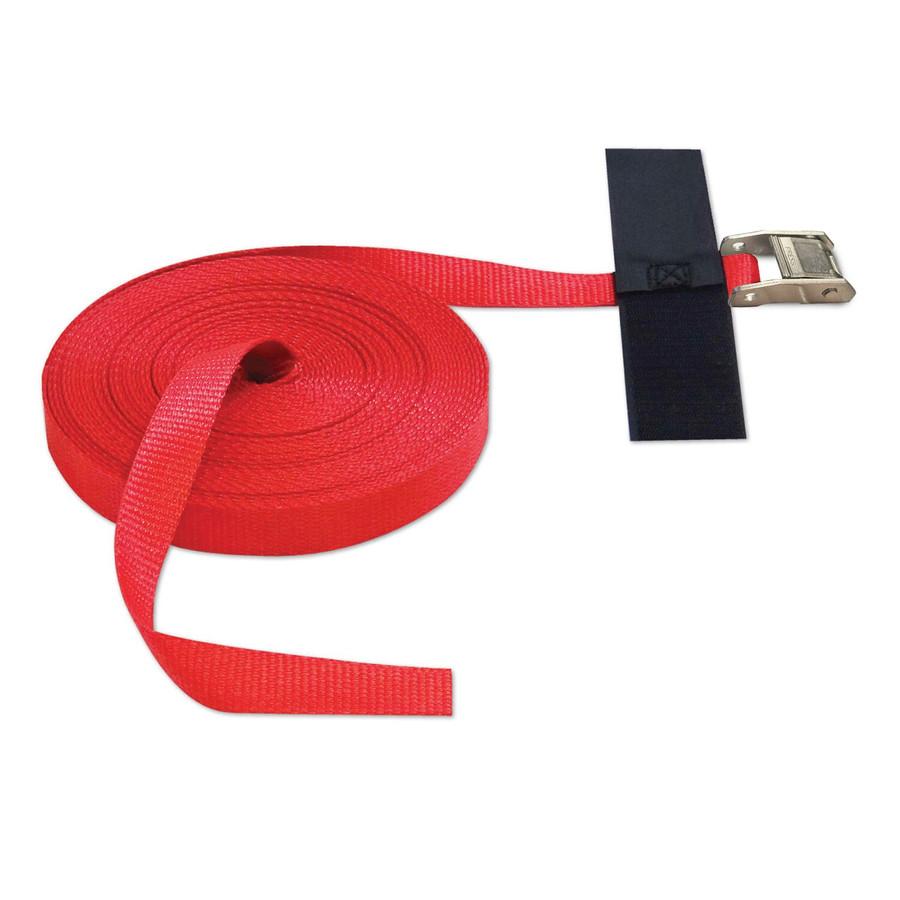"CINCH STRAP 1""x50' CAM (USA!) with Hook & Loop Storage Fastener"