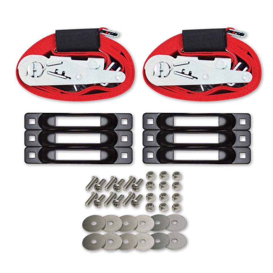 """SNAPLOCS WITH RATCHET BONUS PACK 2""""x16' E-Strap System for Trucks and Trailers"""