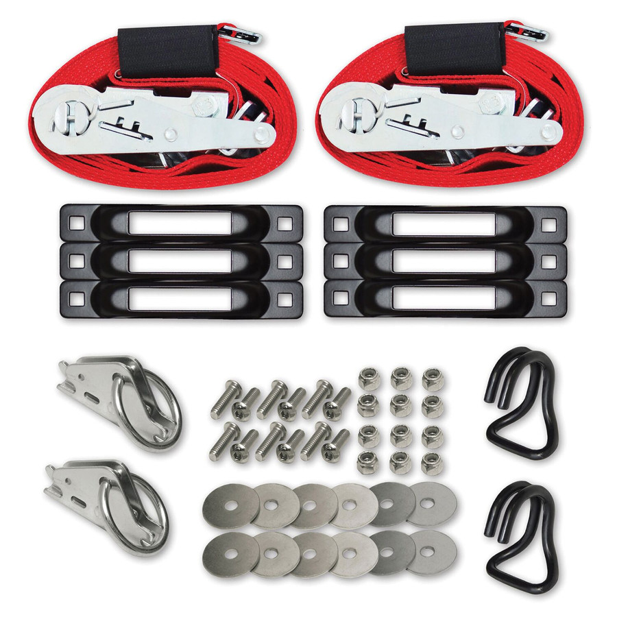 """SNAPLOCS WITH RATCHET BONUS PACK PLUS 2""""x16' E-Strap System for Trucks and Trailers"""