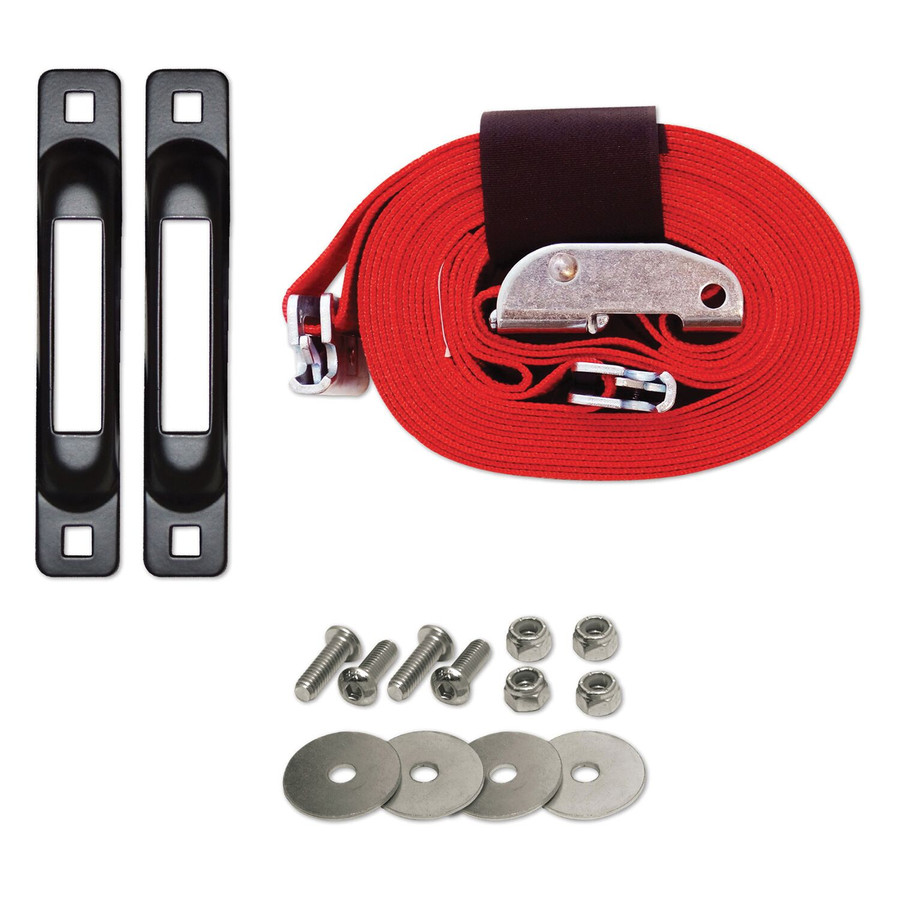 """SNAPLOCS TAILGATE STRAP WITH CAM 2""""x16' E-Strap System for Trucks and Trailers"""
