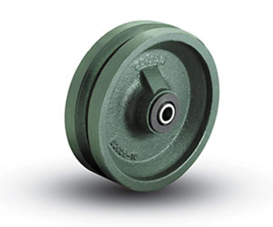 6'' x 2'' V-Grooved Wheel (1,200 LBS. Cap)