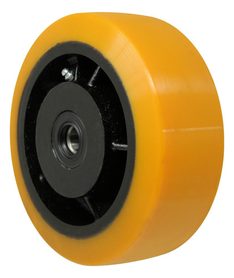 """LINCO Polymer on Cast Iron Core with Tapered Roller Bearings 8"""" x 3"""""""