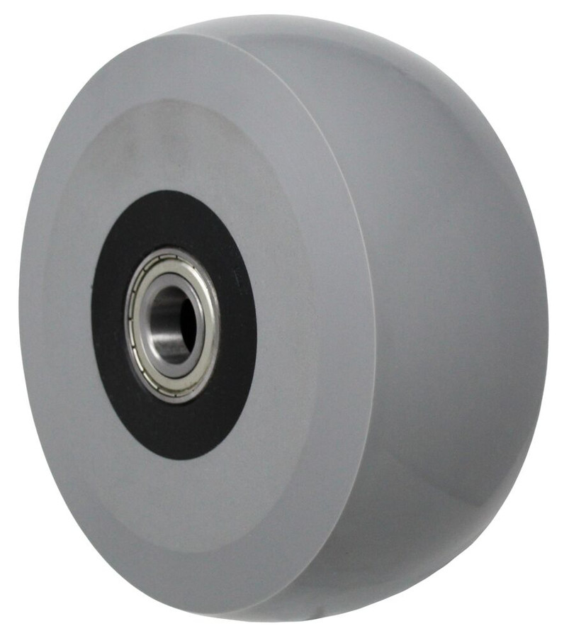 """LINCO Solid Cast Polyurethane on Glass Filled Nylon Collar with Sealed Percision Bearings 8"""" x 3"""""""