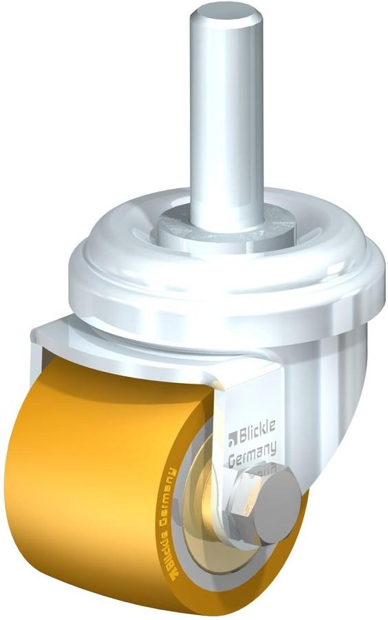 """Blickle Low Profile Swivel Caster 1-3/8"""" [LRA-VSTH 35K-GS10]"""