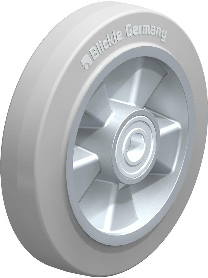"Blickle Easy Roll Wheel 8"" [ALEV 200/20K-SG]"