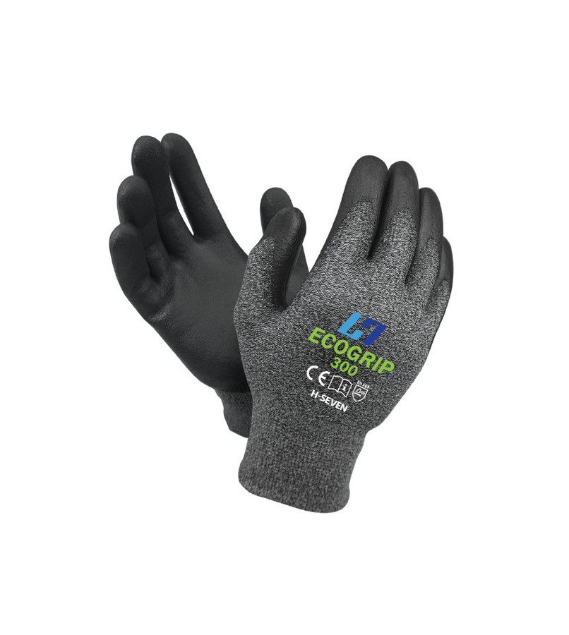 ECOGRIP 300 - CHEMICAL FREE BREATHABLE WORK GLOVE - 1 PAIR - SIZE MEDIUM