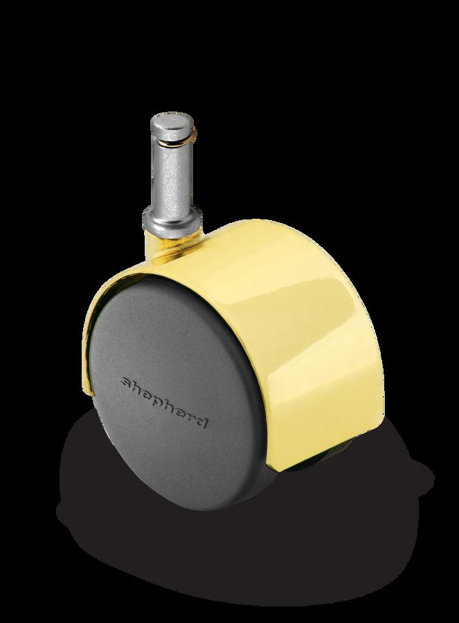 Shepherd Pacer Twinwheel Caster 60mm (100 LBS Cap) [PPA60223BR-U]