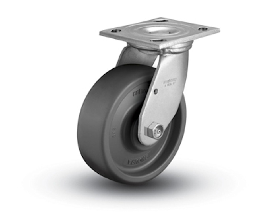 6'' Endura Swivel Caster - Top Plate (1100 LBS Cap.)