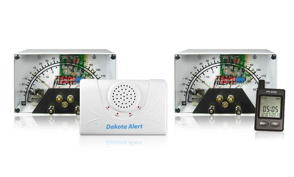 Wireless Temperature Alert System with Pager Style Receiver