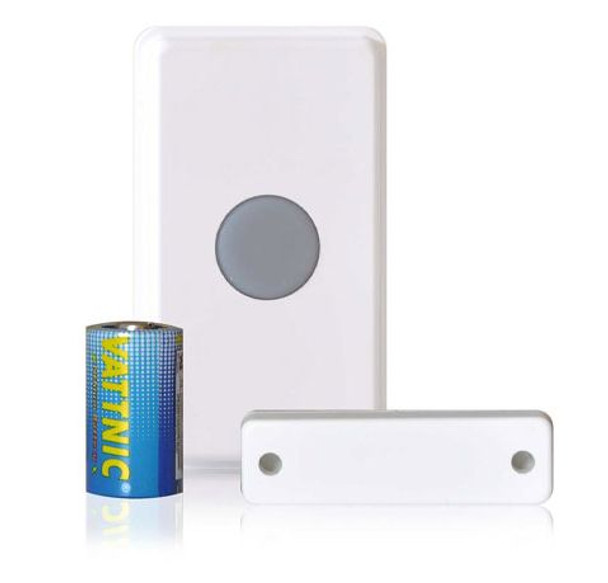 Dakota Alert 4000 Universal Transmitter Push Button, Magnetic Contact, Input - UT4000