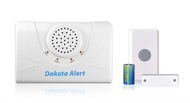 Dakota Alert Wireless Doorbell - UTDCR2500