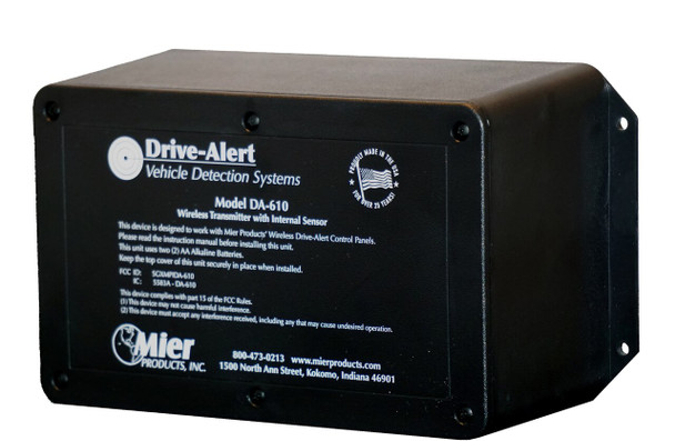 Mier Wireless Vehicle Sensor - DA-610TO
