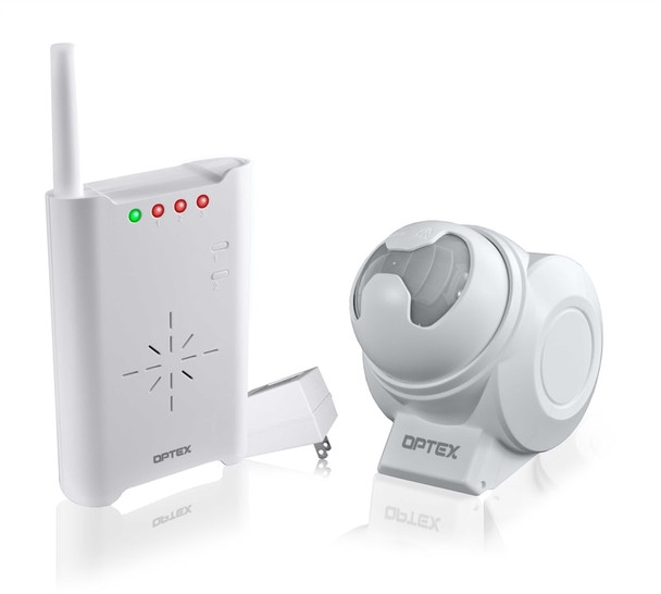 Optex Wireless 2000 Motion Sensor with Chime Receiver - RCTD-20U