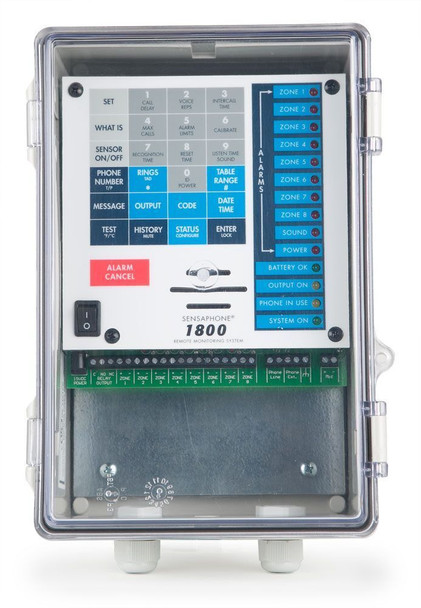 Sensaphone 1800 Clear Door - FGD-1800CD