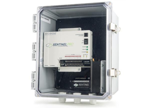 Sensaphone SCD-PRO-4GVZCD Sentinel PRO Monitoring System with Cellular Modem