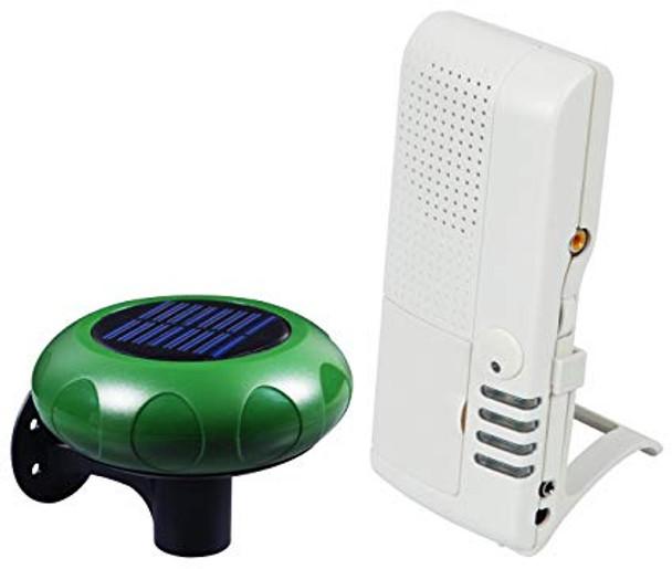 STI-V34100 Solar Powered Wireless Driveway Alarm with Voice Alert