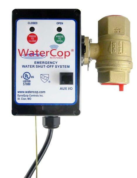 "WaterCop Classic Actuator with 3/4"" Valve"