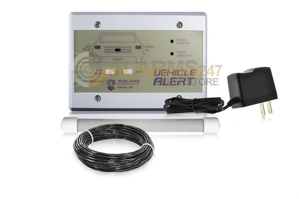 Winland Vehicle Alert System console, 100' cable & transformer - VAL-1