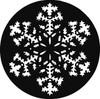 Rosco/GAM Snowflake (GAM) Steel Gobo