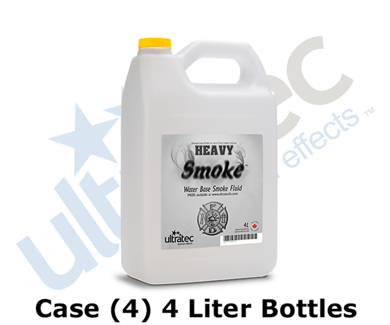 Ultratec 4L Fire & Safety Heavy Smoke Fluid by the Case