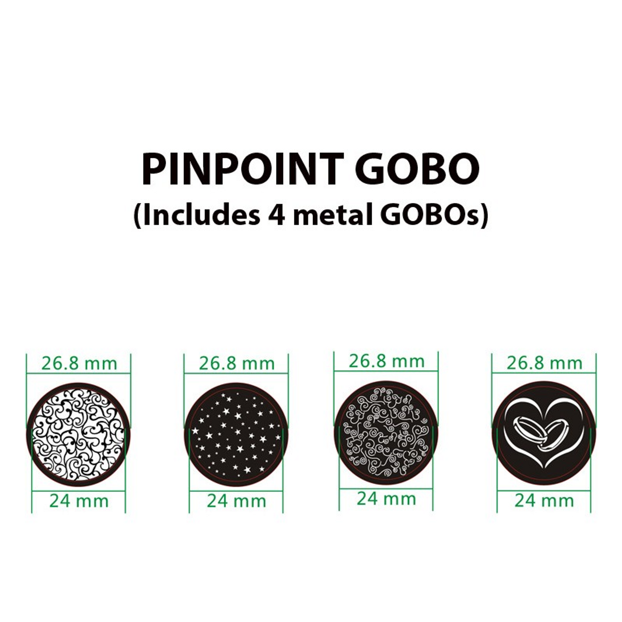 American DJ PinPoint Gobo CW