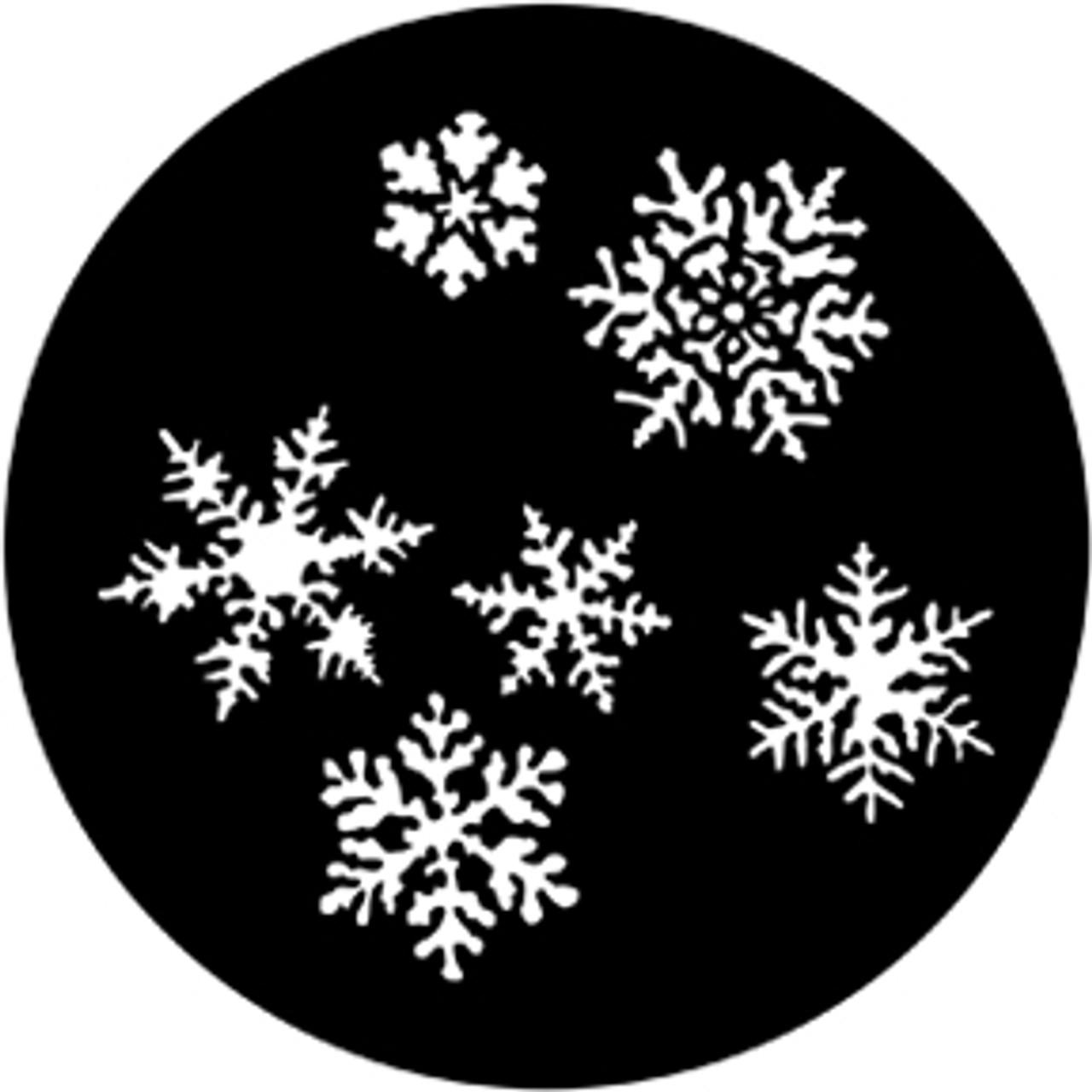 Rosco/GAM Snowflakes Steel Gobo