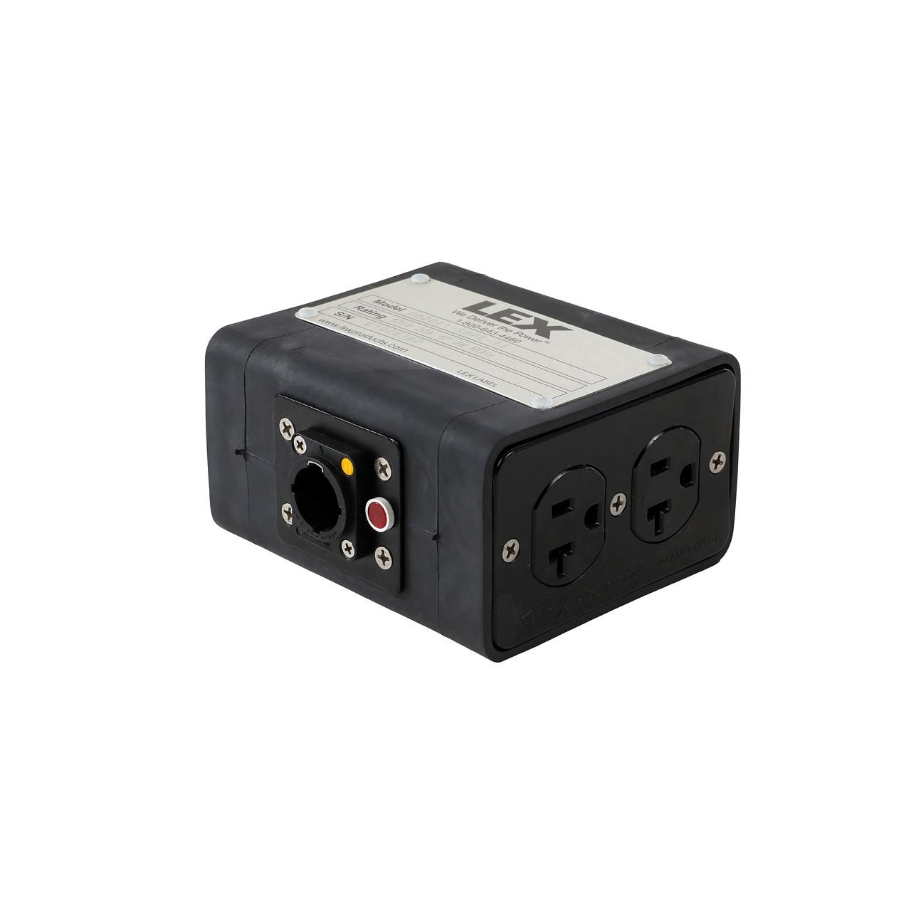 Lex Powercon True 1 Quad box