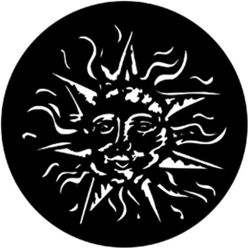Rosco/GAM Smiling Sun Steel Gobo
