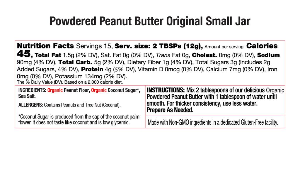 Original Powdered Peanut Butter Nutritional Small