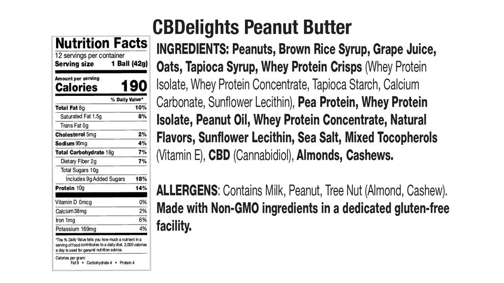 Peanut Butter Nutritional