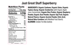 Superberry Acai Nutritional