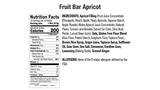 Apricot Fruit Bar Nutritional
