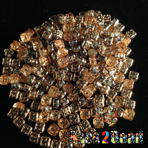 Our 4Ceed© Crystal Capri Gold......( app 270 beads per 25 grams )