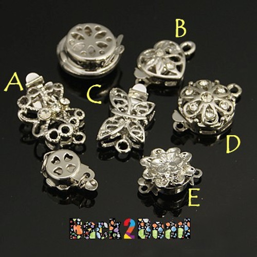 Pick a letter, place in comment section. These are beautifully carved, the perfect accent to your project !  Get them all for one low price, here.... http://back2bead.com/gilded-heart-multi-pack-5-pieces-platinum-brass-box-clasps-appr-8-14mm-wide-13-19mm-long-4-5-7-5mm-thick-hole-1-2mm/