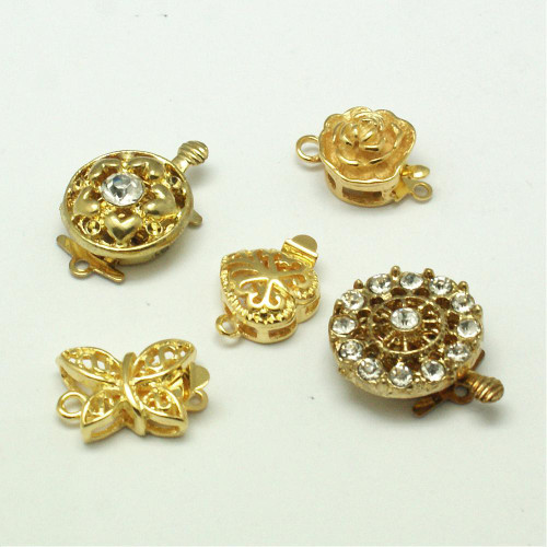 Get all 5 of these beautifully carved box clasps for one low price !