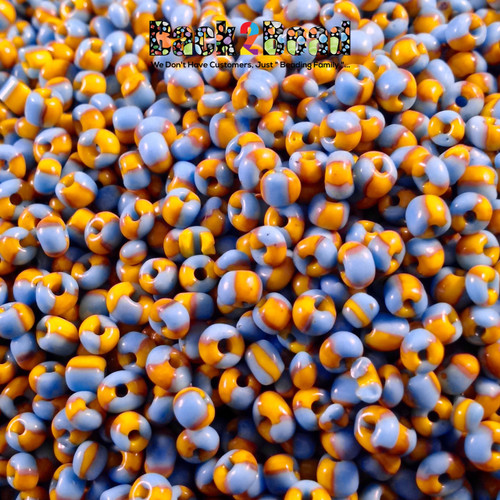 6/0 Two Tone Seed Beads are the embellishment you are looking for. These rare combinations are the bead you've always searched for and now you've found them!